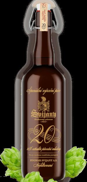 Svijany 20 % - speciální výroční pivo