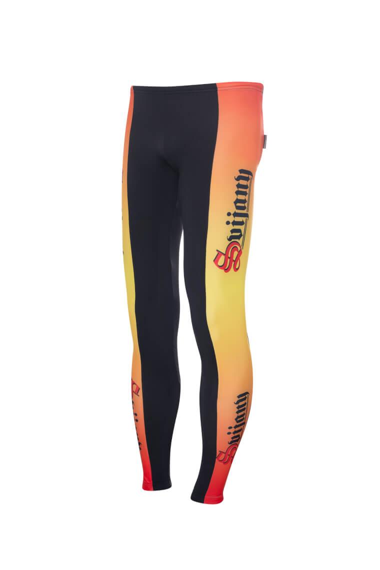 Cyklistrické kalhoty žluté zateplené 1.jpg